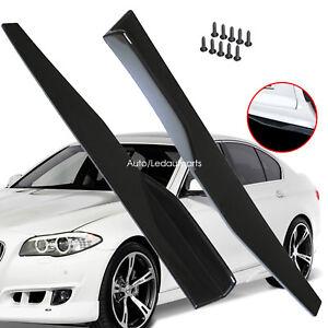 Car Side Skirts Smart Car Side Skirt Extension Shovel Rocker Splitters Protector
