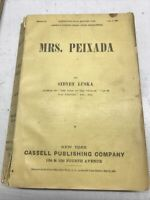 Cassell's Sunshine Series Mrs Peixada By Sidney Luska 1886