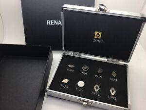 Renault Gift Enamelled Pins Badge Set Case Presentation 1900+ Display 5 Genuine