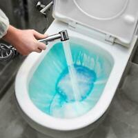Badezimmer Duschkopf Edelstahl Hand Toilette Bidet Wasser Spray Kopf L6A0
