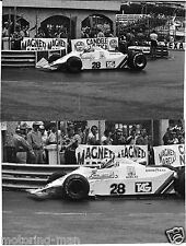MONACO GRAND PRIX 1979 CLAY RAGAZZONI WILLIAMS FW07 2 PHOTOGRAPHS