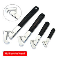 Stainless Adjustable Wrench Multi-function Purpose Spanner Tool
