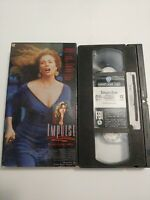 Impulse VHS Tape Movie Warner Home Video thriller film good bad cop rare oop