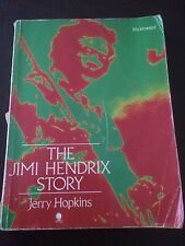 """The Jimi Hendrix Story"" Jerry Hopkins (Paperback, 1984) Rock Biography"