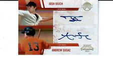 2011 Playoff Contenders Winning Combos Autographs #2 Josh Osich/Andrew Susac 149