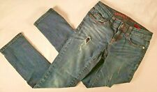 Arizona skinny jeans girls youth size 8 regular Pre-Owned