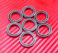 4 pcs 6704-2RS (20x27x4 mm) Black Rubber Sealed Ball Bearing Bearings 20 27 4