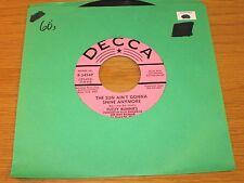 "PROMO 60's ROCK 45 RPM - FUZZIE BUNNIES - DECCA 34547  ""THE SUN AIN'T GONNA..."""