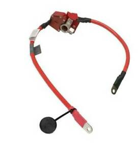 Battery Cable-Positive Terminal to Under-Floor Cable Genuine For: BMW 320i M3