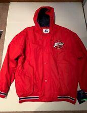 St John's University Red Storm Starter Jacket. Vintage Style Size L