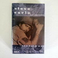 Steve Earle and The Dunes - Cassette - The Hard Way