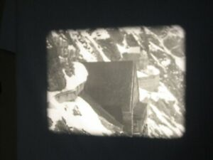 16mm Film Glimpses of Switzerland Walton Prod Travelogue B/W Silent Fab Con