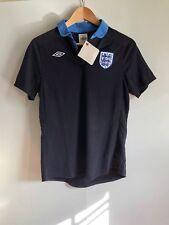 Umbro England Football Women's Retro Jersey - Size 12 - Black - New