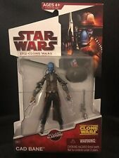 Star Wars™ THE CLONE WARS Cad Bane (Bounty Hunter) CW 22 RARE Retired Figure