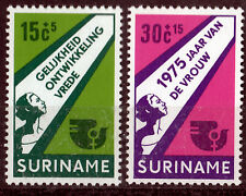 Surinam 693-94 **, Internationales Jahr der Frau