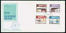 Mayfairstamps Ascension Island 1985 Canons Guns Combo First Day Cover wwh30639
