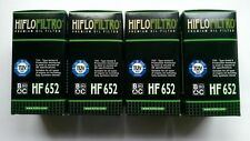 KTM EXC-F 350 / Six Days (2013 - 2018) HifloFiltro Oil Filter (HF652) x4 Pack
