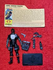 2009 GI JOE RESOLUTE COBRA BAT v19 RESOLUTE 5 PACK 100% COMPLETE FILE CARD