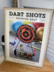 Stylesetter Darts Shots Drinking Game NIB