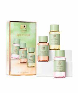 PIXI Best of Tonics - 3x Toner Gift Set: Glow + Rose + Vitamin C 3x 40ml GIFT!