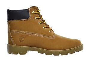 Timberland Big Kids 6 Inch Basic Waterproof Boots Wheat 10960