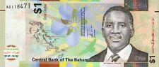 BAHAMAS. $1 .2017,P-77,UNC BANKNOTES (R)