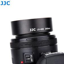 JJC 49mm Metal Screw-in Lens Hood CANON EF 50MM 1:1.8 STM SONY E 35/50MM1:1.8OSS