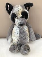 Jellycat Medium Bashful Bush Baby Lemur Comforter Soft Toy Retired Rare Grey