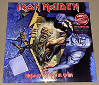 IRON MAIDEN!! NO PRAYER FOR THE DYING!! HEAVY METAL VINYL LP!!