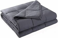 """Weighted Blankets 60""""x80"""" Twin/Full/Queen Weighted 20 lbs Sensory Blanket Adults"""