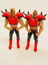 WWE Mattel Elite LOD Road Warriors Hawk Animal Wrestling Figure Set!