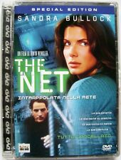 Dvd The Net - Special edition Super Jewel box con Sandra Bullock 1995 Usato raro