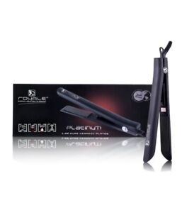 Royale Platinum Genius Heating Element Hair Straightener w/ 100% Ceramic Purple