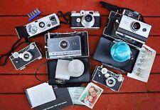New ListingLarge Lot Vintage Cameras Kodak Brownie Argus C3 C-Four Polaroid 100 101 Land
