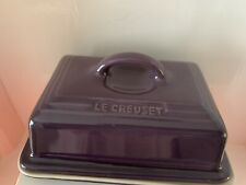 Le Creuset Butter Dish - Cassis (NEW)