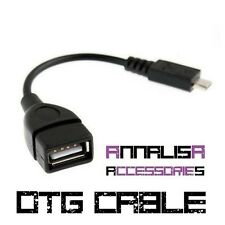 CAVO OTG MICRO USB ADATTATORE FEMMINA 5 PIN CAVETTO HOST CABLE GALAXY TAB NOTE 3