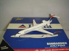 """Gemini Jets 400 Delta Connection CRJ-700 """"2000s Deltaflot color"""" 1:400"""