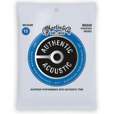Martin Acoustic Guitar Strings 13-56 MA550 Phosphor Bronze €8.50