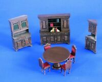 1/35 Resin Furniture Bookshelf Desk set for Diorama Factory Overproduction 35672