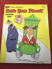 Vintage Rand McNally HONG KONG PHOOEY Coloring Book (1976) H1858 - Hanna Barbera