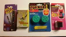 Lot of 4 great magic tricks-hot rod, crazy cube, marked cards, spiked coin-EZ !