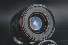 Canon EF 20-35mm f/2.8 L Lens / Excellent optics! / With caps/ sample photos!