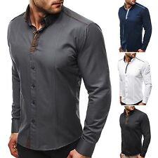 Maschinenwäsche Klassische Herrenhemden im Button-Down-Kragen-Stil mit Umschlagmanschette-Ärmelart ohne Mehrstückpackung