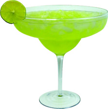 Extra Large Giant Cinco De Mayo Margarita Glass - 33oz (970ml) - Fits about 3 ty
