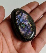 Labradorite Natural, Palm Stone Large 55x30mm