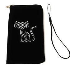 Movil bolsa estuche funda Soft case con pedrería motivo para Samsung Galaxy m31