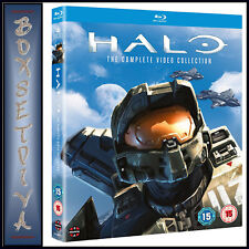 HALO - THE COMPLETE VIDEO COLLECTION - 4 MOVIE COLLECTION  *BRAND NEW BLU-RAY