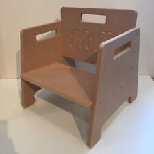 DIY Child / enfant Chair Personalisable with ANY Text! Perfect Present!