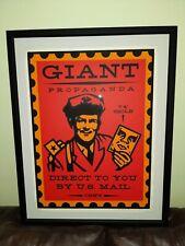Shepard Fairey 2000 Obey Giant Street Art Vintage Framed Print Poster 28/140