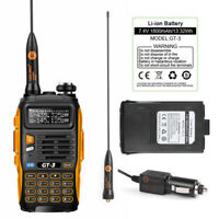 Baofeng *GT-3 Mark II* Two-way FM Two Way Radio Dual Band Talkie Walkie+Batterie